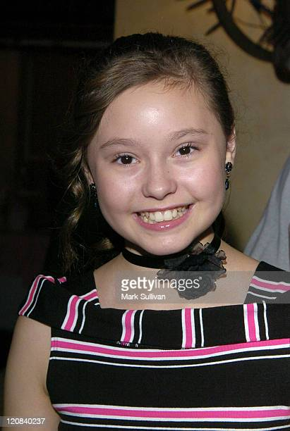 Jillian Clare during Young Artist AwardsArrivals at The Sportsmen's Lodge in Studio City California United States