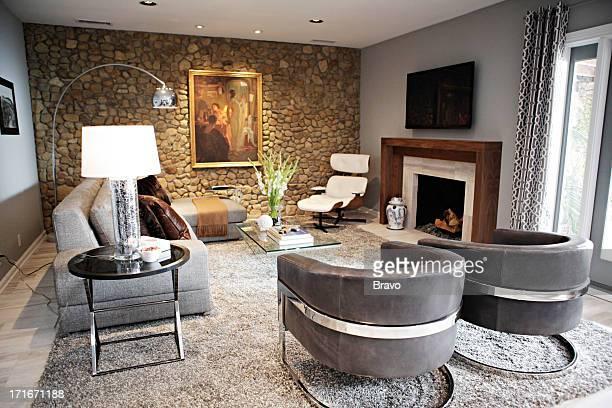 LEWIS 'Jillian Gets Fired' Episode 203 Pictured Living Room after renovation