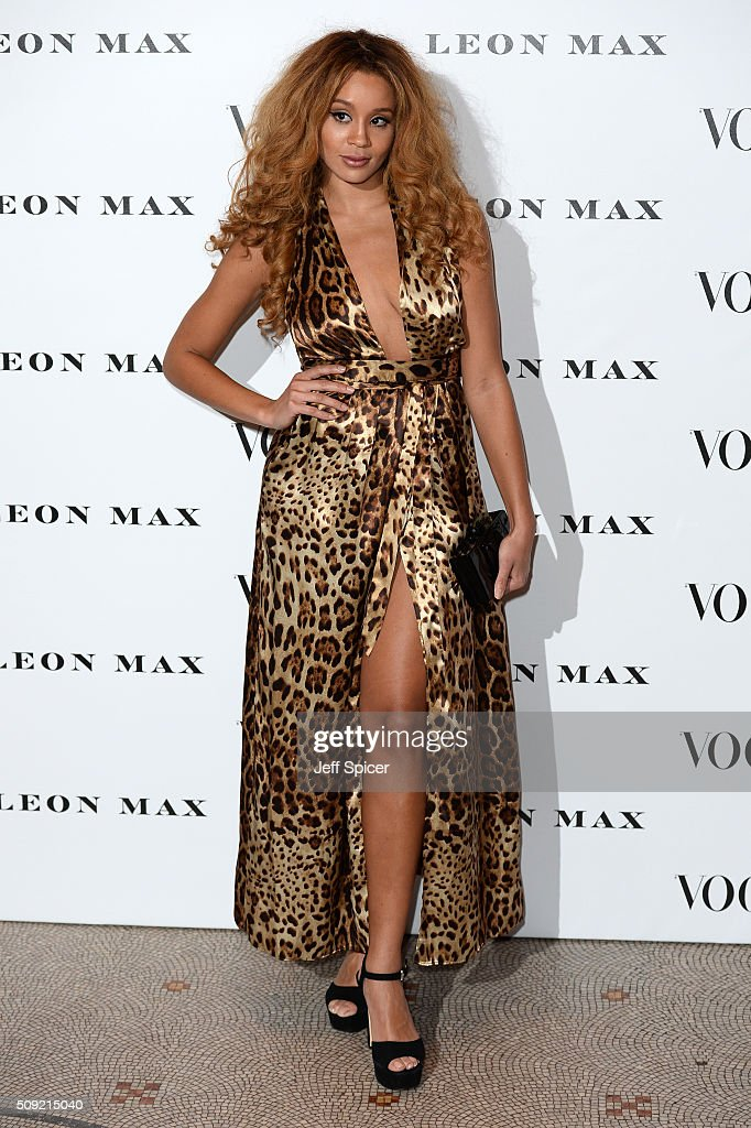 <a gi-track='captionPersonalityLinkClicked' href=/galleries/search?phrase=Jillian+Hervey&family=editorial&specificpeople=5543959 ng-click='$event.stopPropagation()'>Jillian Hervey</a> from Lion Babe attends at Vogue 100: A Century Of Style at the National Portrait Gallery on February 9, 2016 in London, England.