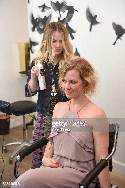 Jillian Johnston attends L'Oreal Professionnel Hair Fashion Night at Ramirez Tran Salon on June 15 2017 in Beverly Hills California