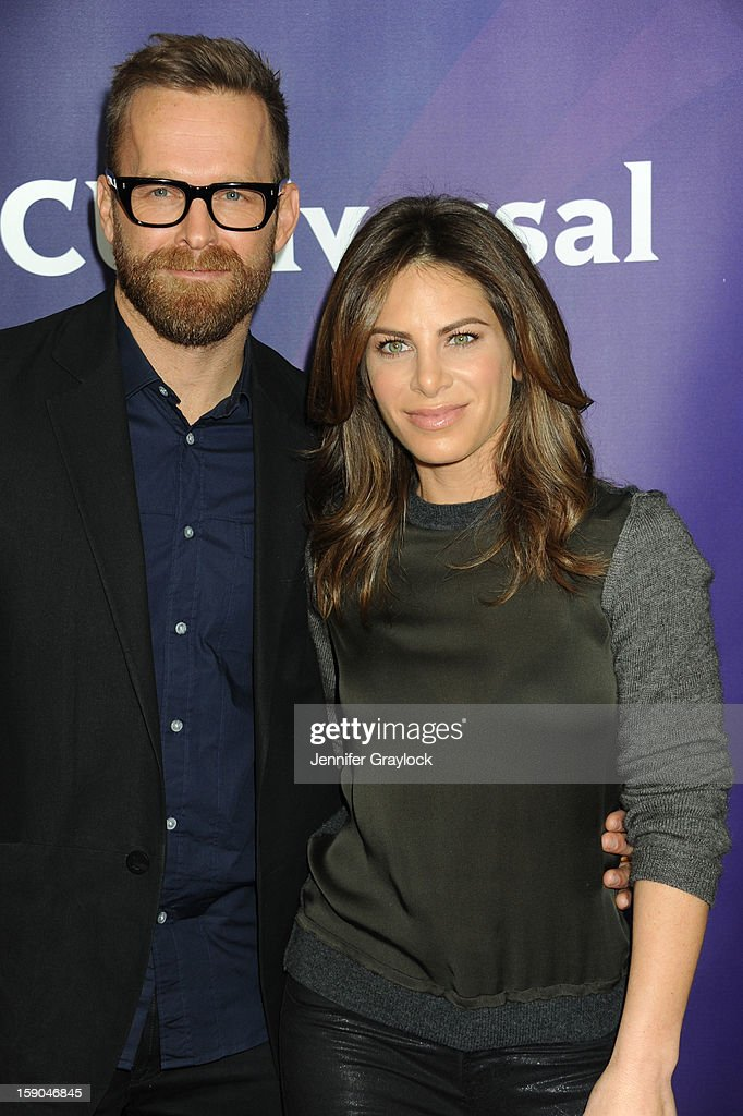 Jillian Michaels and Bob Harper attends the NBC Winter TCA Press Tour held at the Langham Huntington Hotel and Spa on January 6, 2013 in Pasadena, California.