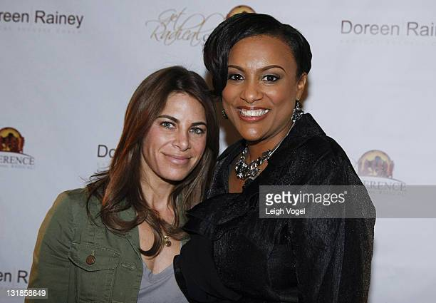 Jillian Michaels and Doreen Rainey attend 3rd Annual Get RADICAL Women's Conference at Renaissance Washington DC Hotel on March 26 2011 in Washington...