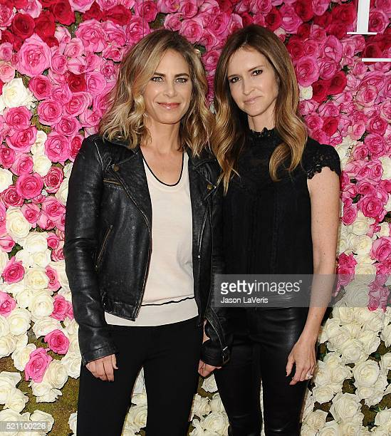 Jillian Michaels and Heidi Rhoades attend the premiere of 'Mother's Day' at TCL Chinese Theatre IMAX on April 13 2016 in Hollywood California