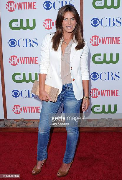 Jillian Michaels arrives at the 2011 TCA Summer Press Tour CBS The CW Showtime at The Pagoda on August 3 2011 in Beverly Hills California