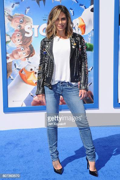 Jillian Michaels arrives at the Los Angeles Premiere 'Storks' at Regency Village Theatre on September 17 2016 in Westwood California