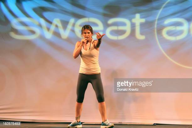 Jillian Michaels during the Get Physical training event at the Showboat Atlantic City on September 22 2012 in Atlantic City New Jersey