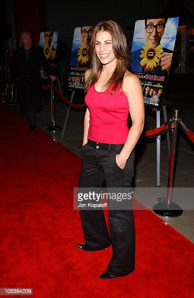 Jillian Michaels during 'The Life and Death of Peter Sellers' Los Angeles Premiere at Grauman's Chinese Theater in Hollywood California United States