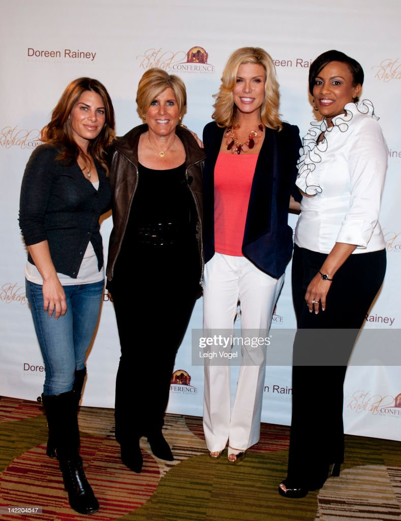 <a gi-track='captionPersonalityLinkClicked' href=/galleries/search?phrase=Jillian+Michaels&family=editorial&specificpeople=2303813 ng-click='$event.stopPropagation()'>Jillian Michaels</a>, <a gi-track='captionPersonalityLinkClicked' href=/galleries/search?phrase=Suze+Orman&family=editorial&specificpeople=556123 ng-click='$event.stopPropagation()'>Suze Orman</a>, <a gi-track='captionPersonalityLinkClicked' href=/galleries/search?phrase=Ali+Brown&family=editorial&specificpeople=667916 ng-click='$event.stopPropagation()'>Ali Brown</a> and Doreen Rainey attend the 4th Annual Get Radical Women's conference at the Hyatt Regency on March 31, 2012 in Reston, Virginia.