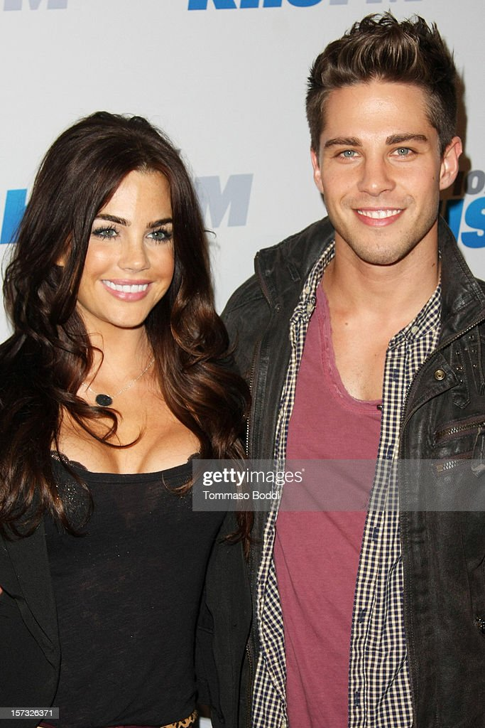 Jillian Murray and Dean Geyer attend the KIIS FM's Jingle Ball 2012 held at the Nokia Theatre LA Live on December 1 2012 in Los Angeles California