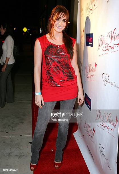 Jillian Murray during Grand Opening of Blu Vintage Boutique at 1621 1/2 Montana Ave in Santa Monica California United States