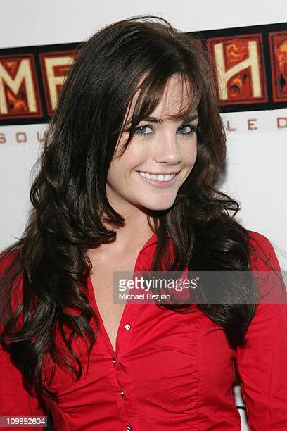 Jillian Murray during HiTeknolgy 2 Album Release Party at Memphis Restaurant in Los Angeles California United States