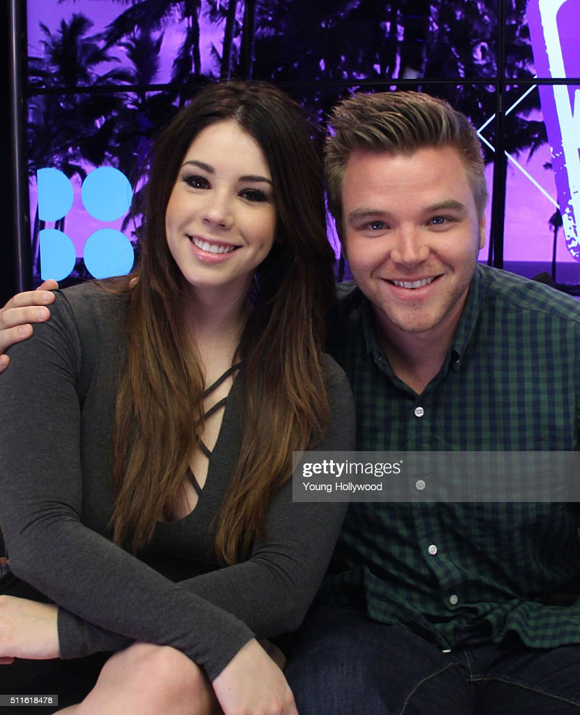 Jillian Rose Reed And Brett Davern Visit Young Hollywood ...