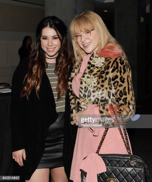Jillian Rose Reed and Renee Olstead attend the 18th Annual Women's Image Awards at Skirball Cultural Center on February 17 2017 in Los Angeles...