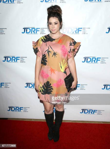 Jillian Rose Reed arrives at the JDRF LA Chapter's Imagine Gala held at The Beverly Hilton Hotel on April 22 2017 in Beverly Hills California