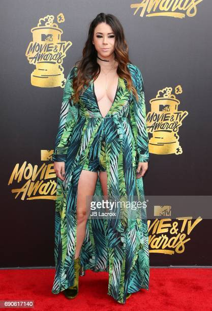 Jillian Rose Reed attends the 2017 MTV Movie and TV Awards at The Shrine Auditorium on May 7 2017 in Los Angeles California