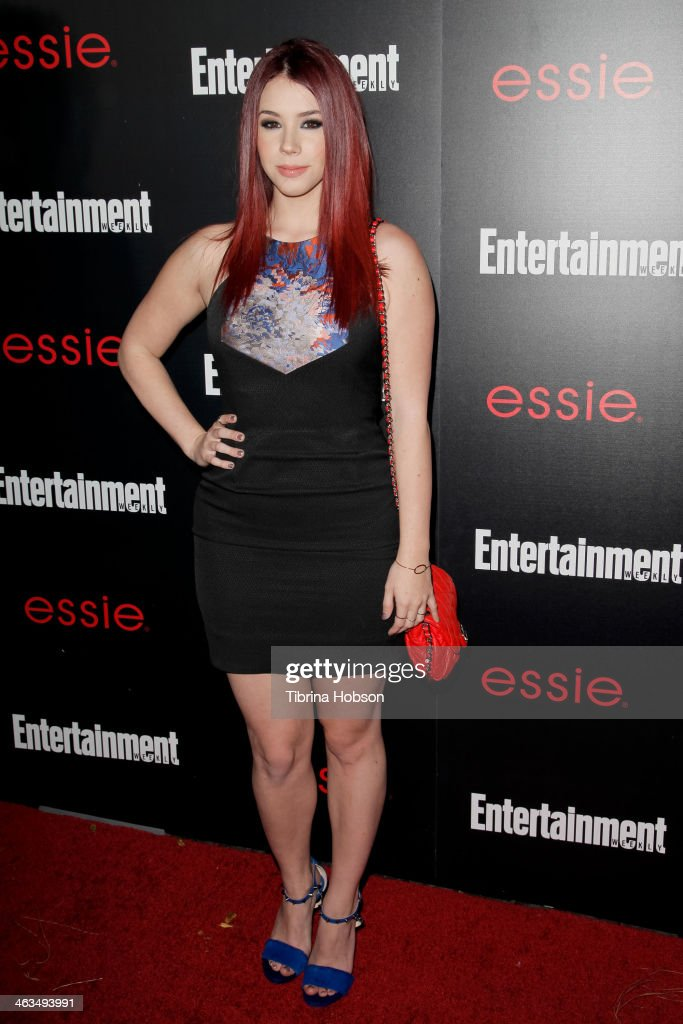 Jillian Rose Reed attends the Entertainment Weekly SAG Awards pre-party at Chateau Marmont on January 17, 2014 in Los Angeles, California.