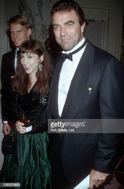 Jillie Mack and Tom Selleck during 35th Anniversary Dinner for National Review at Waldorf Hotel in New York City New York United States