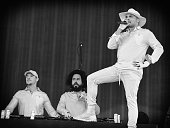 Jillionaire Diplo and Walshy Fire of Major Lazer performs onstage at the the 2016 Panorama NYC Festival at Randall's Island on July 22 2016 in New...