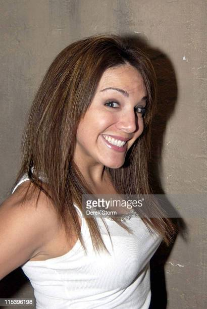 JillMichele Melean during Keith Collins Turkey Bowl Party at Cain NYC November 26 2005 at Cain in New York City New York United States