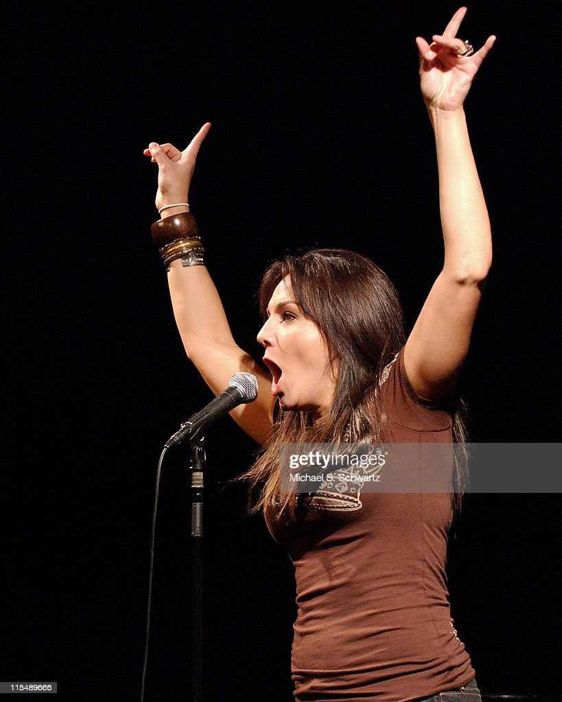 JillMichele Melean performs at the Hollywood Improv on October 4 2007 in Hollywood California