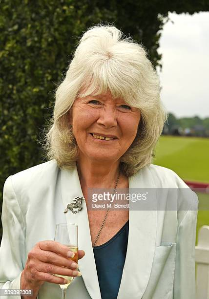 Jilly Cooper attends The Cartier Queen's Cup Final at Guards Polo Club on June 11 2016 in Egham England