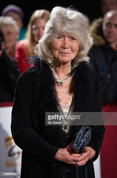 Jilly Cooper attends the Galaxy National Book Awards at BBC Television Centre on November 10 2010 in London England