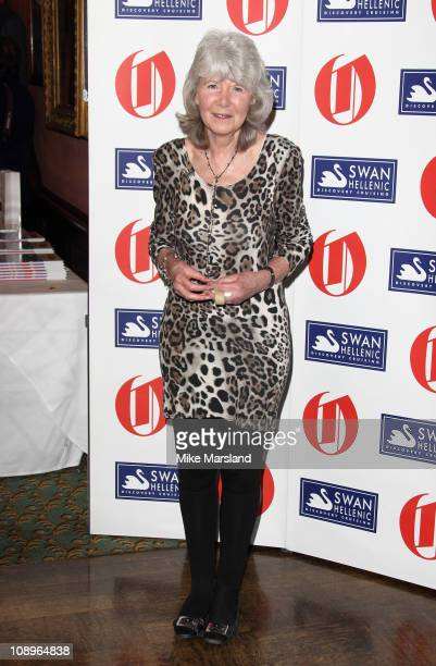Jilly Cooper attends 'The Oldie Of The Year Awards' at Simpsons in the Strand on February 10 2011 in London England