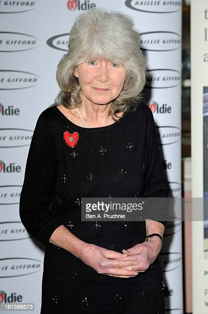 Jilly Cooper attends the Oldie of the Year Awards at Simpsons in the Strand on February 12 2013 in London England