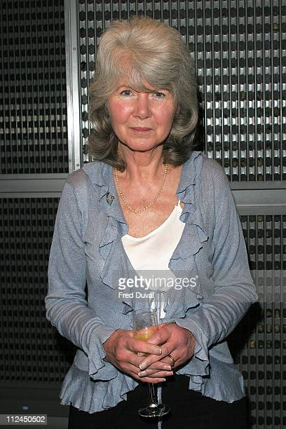 Jilly Cooper during British Book Awards 2006 Shortlist Announcement at Grosvenor House Hotel in London Great Britain