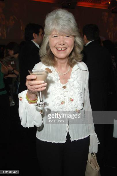 Jilly Cooper during Galaxy British Book Awards 2007 Nominations at Sketch in London Great Britain