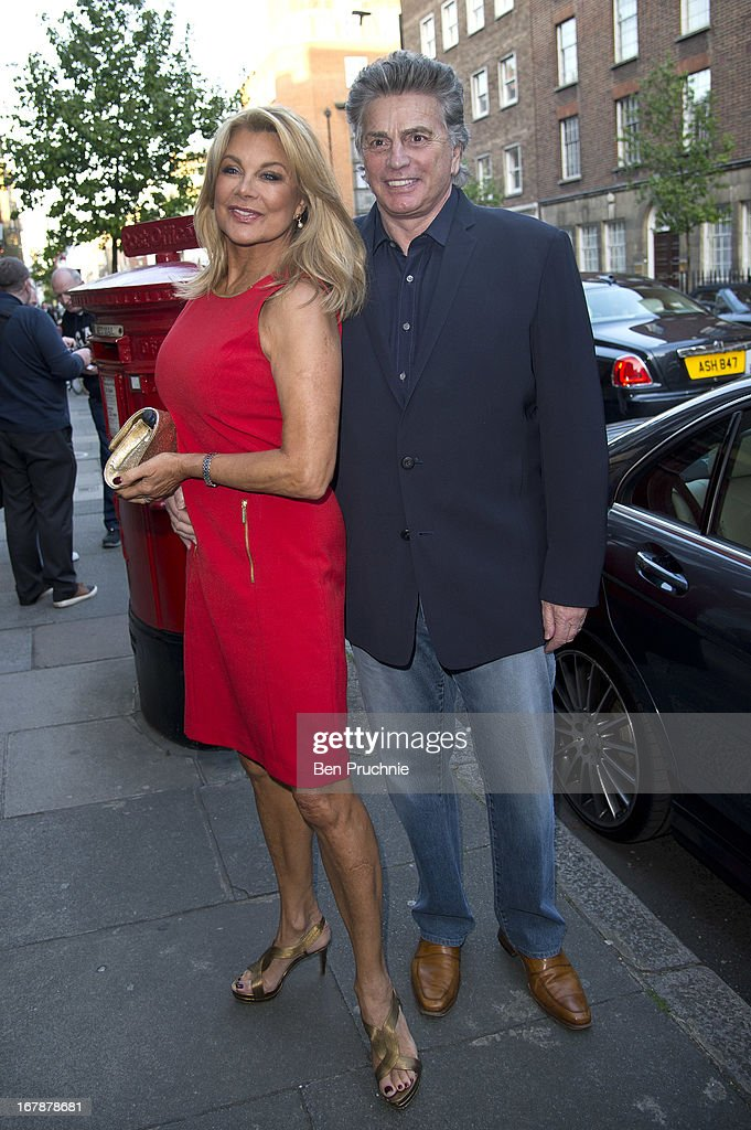Jilly Johnson and Ashley Brodin sighted at the Human Relations Private View on May 1, 2013 in London, England.
