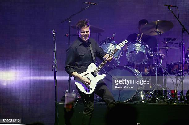 Jim Adkins of the band Jimmy Eat World performs onstage at 1067 KROQ Almost Acoustic Christmas 2016 Night 1 at The Forum on December 10 2016 in...