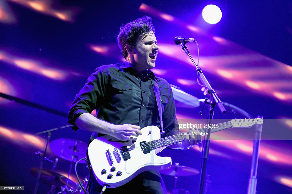 Jim Adkins of the band Jimmy Eat World performs onstage at 106.7 KROQ Almost Acoustic Christmas 2016 - Night 1 at The Forum on December 10, 2016 in Inglewood, California.