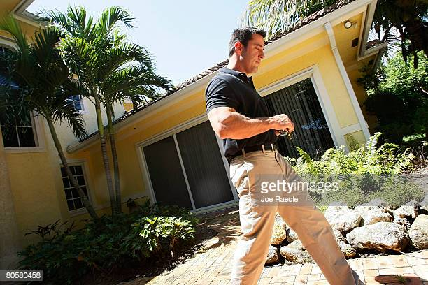 Jim Banford from Real Estate Asset Disposition corp walks away from a property that is heading into foreclosure that his company will be trying to...