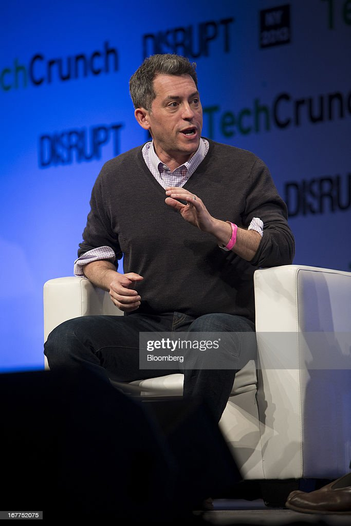 Jim Bankoff, chairman and chief executive officer of Vox Media, speaks during the TechCrunch Disrupt NYC 2013 conference in New York, U.S., on Monday, April 29, 2013. The event features leaders from various technology fields and includes a competition for the best new startup company. Photographer: Scott Eells/Bloomberg via Getty Images