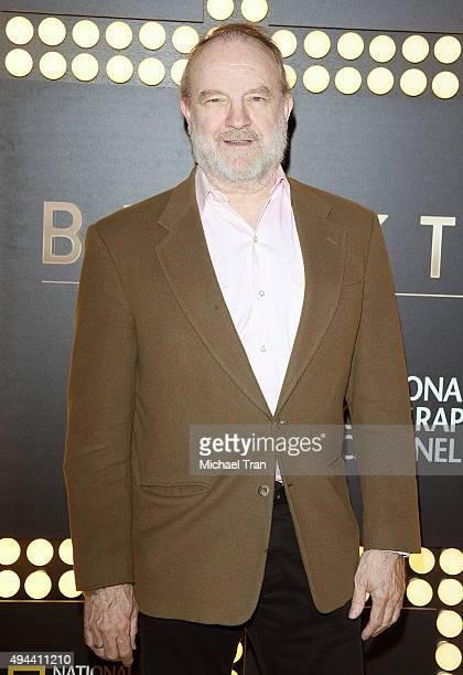Jim Beaver arrives at the Los Angeles premiere of 'Breakthrough' held at Pacific Design Center on October 26 2015 in West Hollywood California