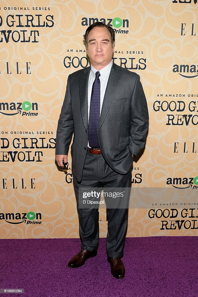 Jim Belushi attends the 'Good Girls Revolt' New York screening at the Joseph Urban Theater at Hearst Tower on October 18, 2016 in New York City.