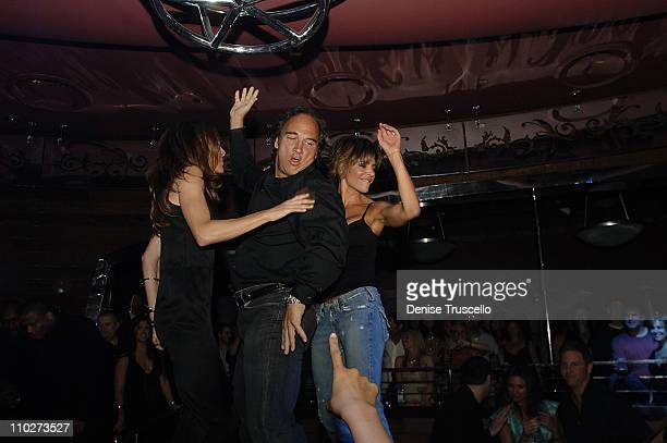 Jim Belushi Lisa Rinna and Friend during Cherry Bar Grand Opening at Red Rock Casino Resort and Spa at Cherry Bar at Red Rock Casino Resort and Spa...