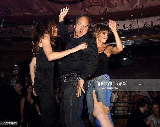Jim Belushi Lisa Rinna and guest during Cherry Bar Grand Opening at Red Rock Casino Resort and Spa at Cherry Bar at Red Rock Casino Resort and Spa in...