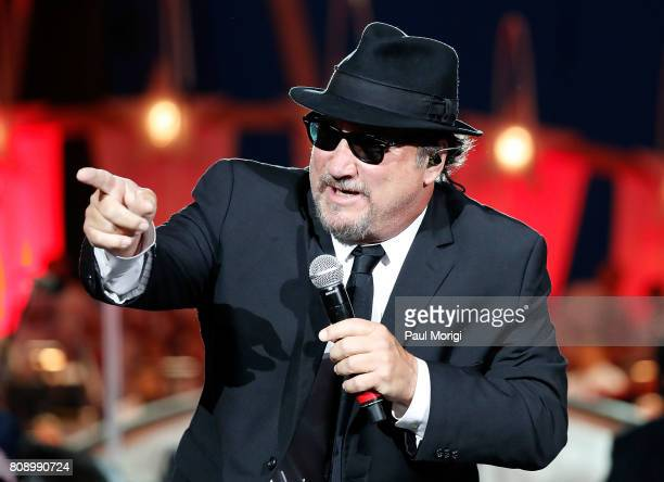 Jim Belushi of The Blues Brothers performs at A Capitol Fourth at US Capitol West Lawn on July 4 2017 in Washington DC