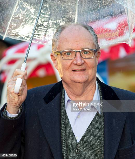 Jim Broadbent attends the World Premiere of 'Paddington' at Odeon Leicester Square on November 23 2014 in London England