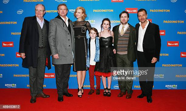 Jim Broadbent Hugh Bonneville Nicole Kidman Samuel Joslin Madeleine Harris director Paul King and producer David Heyman attend the World Premiere of...
