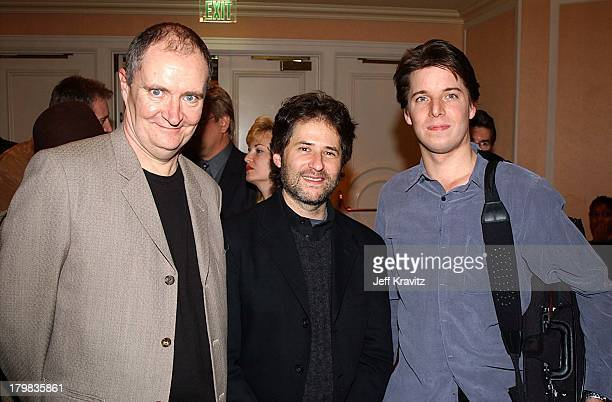 Jim Broadbent James Horner Joshua Bell during Reception for Society of Composers Lyricists for a performance of excerpts of the score of Iris in...