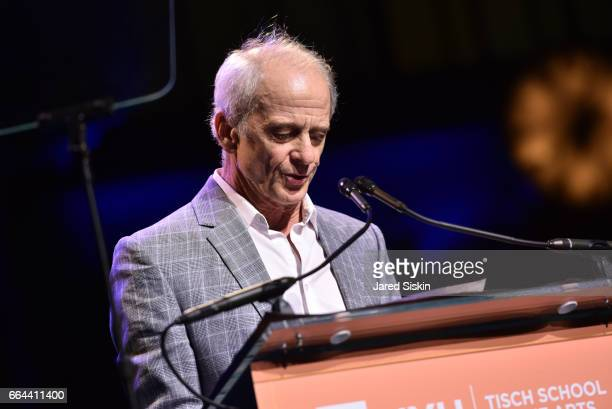Jim Calder speaks at the Tisch School Gala 2017 at Cipriani 42nd Street on April 3 2017 in New York City