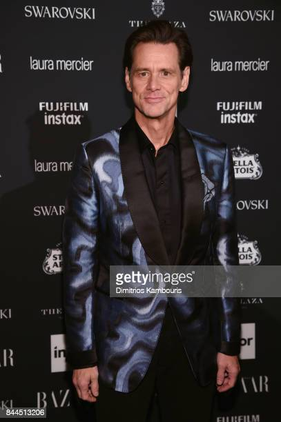 Jim Carrey attends Harper's BAZAAR Celebration of 'ICONS By Carine Roitfeld' at The Plaza Hotel presented by Infor Laura Mercier Stella Artois...