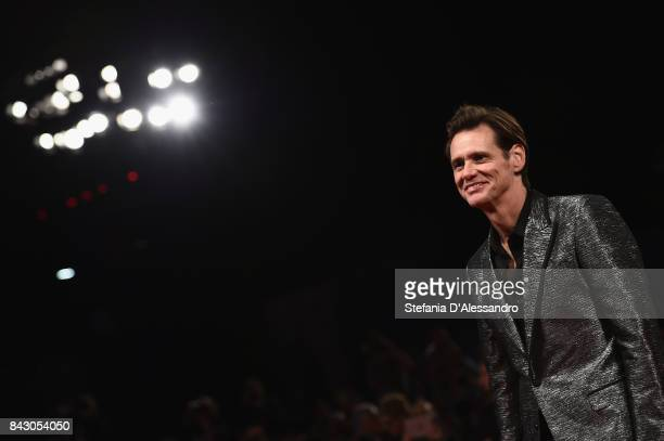Jim Carrey walks the red carpet ahead of the Jim Andy The Great Beyond The Story of Jim Carrey Andy Kaufman Featuring a Very Special Contractually...