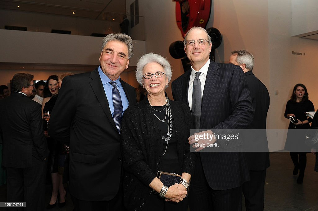 Jim Carter and guests attend an evening with the cast and producers of PBS Masterpiece series 'Downton Abbey' hosted by Ralph Lauren & Graydon Carter on December 10, 2012 in New York City.