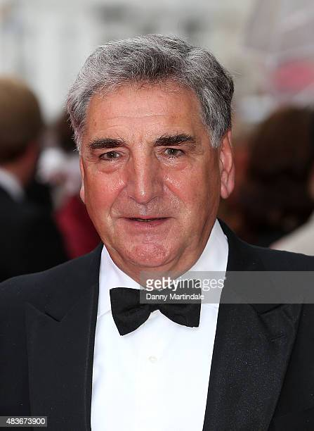 Jim Carter attends as BAFTA celebrate 'Downton Abbey' at Richmond Theatre on August 11 2015 in Richmond England