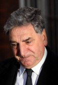 Jim Carter attends the funeral of actor Roger LloydPack at St Paul's Church on February 13 2014 in London England