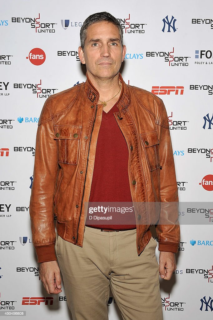 Jim Caviezel attends Beyond Sport United - Workshops & Panels at Yankee Stadium on June 11, 2014 in the Bronx borough of New York City.